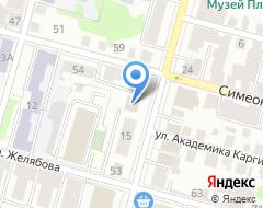 Компания АВТОЛЭНД на карте города