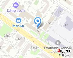 Компания Энергоучет на карте города