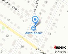 Компания Крупский на карте города