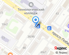 Компания Кросс на карте города