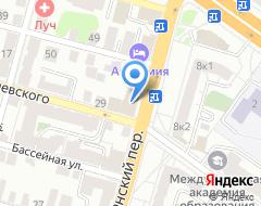 Компания Тотал на карте города