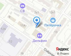 Компания АВТОДВОР на карте города
