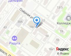 Компания Тверской городской бизнес-инкубатор на карте города