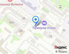 Компания ПромЛит проект на карте города