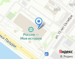 Компания ПАТП-1, МУП на карте города