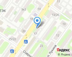 Компания Шинный ряд на карте города