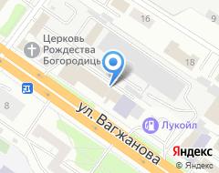 Компания Спас авто на карте города