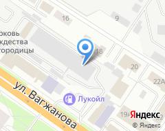 Компания На Вагжанова на карте города