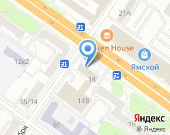 Компания ВЕДИ на карте города