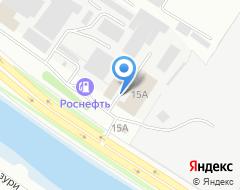 Компания Лазурь на карте города