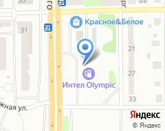 Компания АЗС Интел на карте города