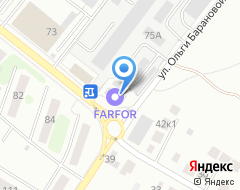 Компания АвтоКом на карте города