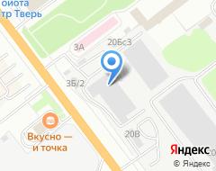 Компания ТВТ на карте города