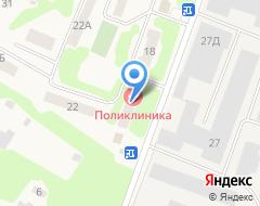 Компания Некрасовская поликлиника на карте города