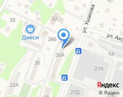 Компания Платежный терминал на карте города