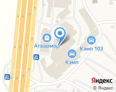 Компания КЭМП на карте города