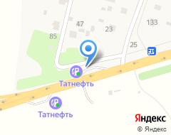 Компания АЗС Татнефть на карте города