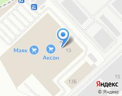 Компания Комфортстрой на карте города