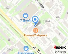 Компания ИнтерСтрой на карте города