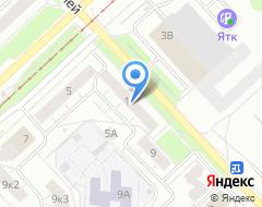 Компания КДК на карте города