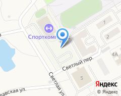 Компания Строящееся административное здание по ул. Светлая (Ивняки) на карте города
