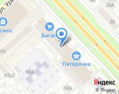 Компания Гейзер на карте города