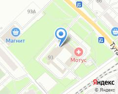 Компания Ин-Сети на карте города