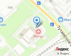 Компания Топбетон на карте города