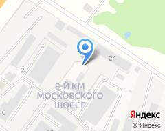 Компания МегаСтрой на карте города