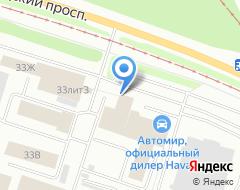 Компания Градпроект на карте города
