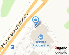 Компания Автотехцентр для автомобилей Toyota на карте города