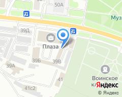 Компания Буровик на карте города