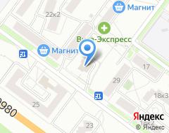 Компания СДК-1 на карте города