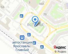 Компания Рента76 на карте города