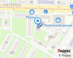 Компания ИРСАТ на карте города