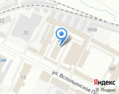 Компания Сантехсервис на карте города
