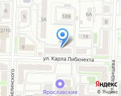 Компания Фактор на карте города