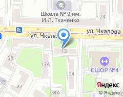 Компания Ярославский кредит на карте города