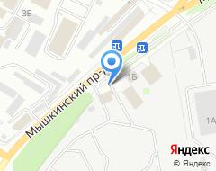 Компания Дорожное строительное управление-1 на карте города