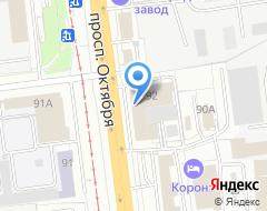 Компания Фибоначчи на карте города