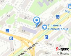 Компания ГеоПрофПроект на карте города