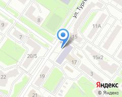 Компания Проект на карте города