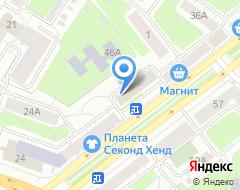 Компания Центр координации бизнеса на карте города