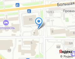 Компания СЕРВИС-ТЕРМИНАЛ на карте города