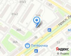 Компания Арвис Маркет на карте города