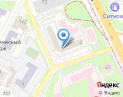 Компания ТРАСКО на карте города