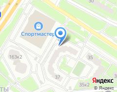 Компания Паритет на карте города