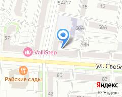 Компания Адвокат Новиков А.А. на карте города