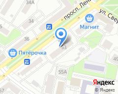 Компания Аудиторское партнерство на карте города