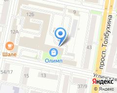 Компания Мир цветов на карте города
